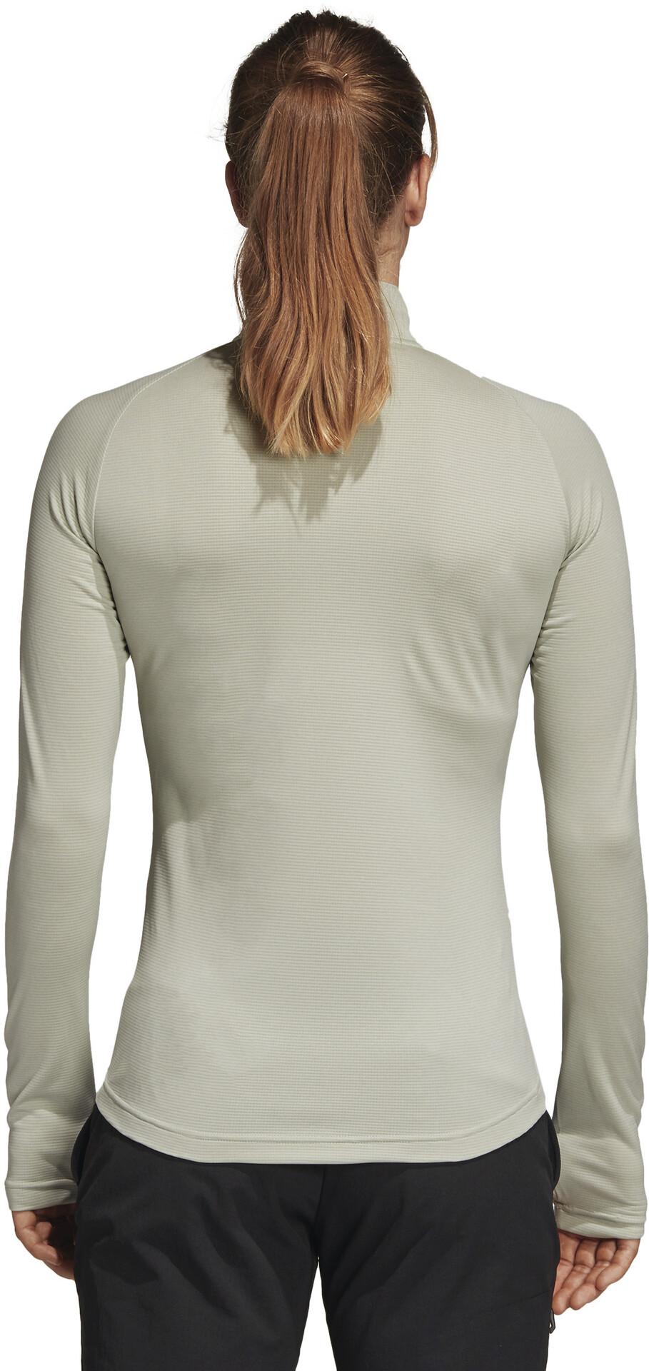 Blanco Adidas Mujer Tracerocker Running Terrex Camiseta Larga Manga v76fYybg
